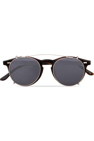 TBD Eyewear Herre Solbriller - Pleat Clip On Sunglasses Classic Tortoise