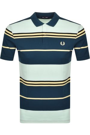 Fred Perry Herre Kortermede - Striped Polo T Shirt