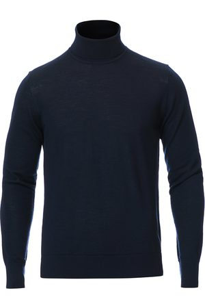 Samsøe Samsøe Flemming Superfine Merino Wool Roll Neck Night Sky