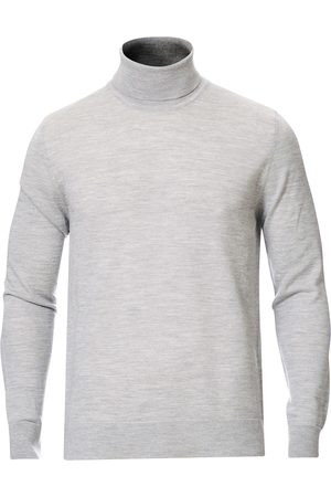Samsøe Samsøe Flemming Superfine Merino Wool Roll Neck Grey Mel