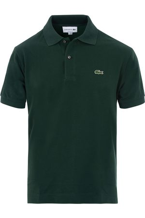 Lacoste Herre Pique - Original Polo Piké Sinople