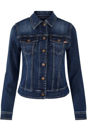 Jonny Q Dame Denimjakker - Betty X-fit Stretch Old Stone Vintage