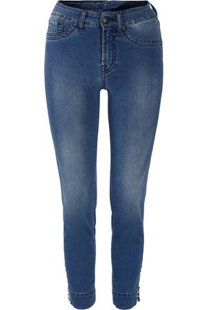 Jonny Q Sabrina Tech Stretch Denim Blue Pearls & Studs