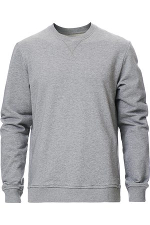 Samsøe Samsøe Hugo Organic Cotton Crew Neck Sweat Grey Mel