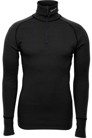 Brynje Arctic Zip Polo Shirt with Thumbfingergrip