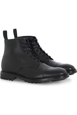 Loake Sedbergh Derby Boot Black Calf Grain