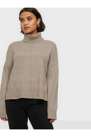 Noisy May Nmian L/S Roll Neck Knit Noos Nomad