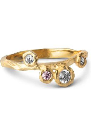 Enamel Rose Ring