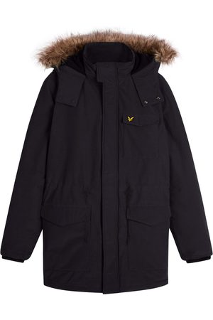 Lyle & Scott Winter Weight Microfleece Lined Parka Jet