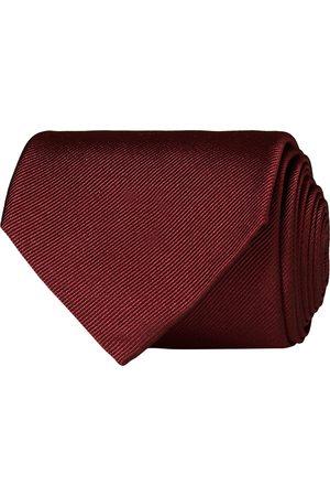 Amanda Christensen Plain Classic Tie 8 cm Bordeaux