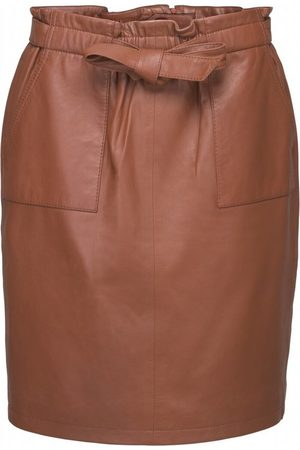 Minus Mirabella leather skirt