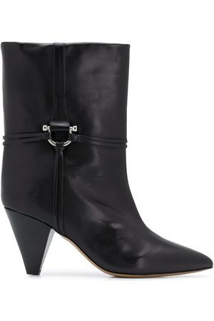 Isabel Marant Angular wide ankle boot