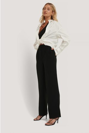 NA-KD Dame Slengbukser - Tailored Wide Leg Trousers