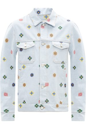 Kirin Printed denim jacket
