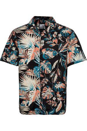 Superdry Herre Kortermede - Ss Cut&Sew Hawaiian Shirt Kortermet Skjorte Multi/mønstret