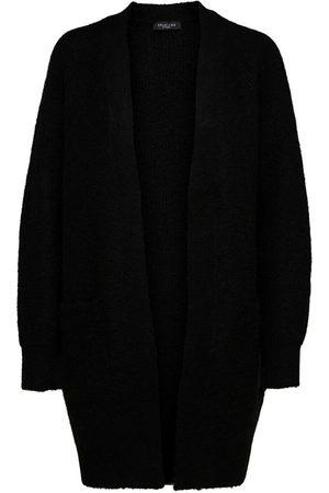 Selected Slflulu Ls Knit Long Cardigan