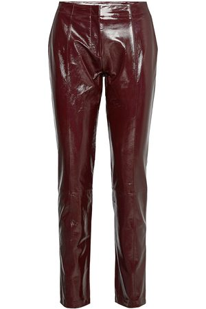 2nd Day 2nd Dean Leather Leggings/Bukser Rød
