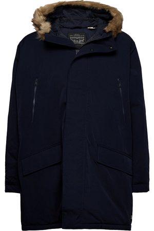 Levi's Herre Jakker - Woodside Long Utlty Prka Night Outerwear Jackets Anoraks Blå