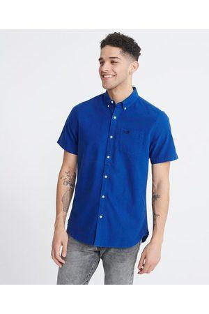 Superdry Classic University Oxford-skjorte med korte ermer
