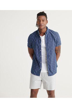 Superdry Classic Shoreditch-skjorte med korte ermer og trykk