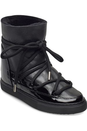 INUIKII Sneaker Gloss Wedge Shoes Boots Ankle Boots Ankle Boot - Flat