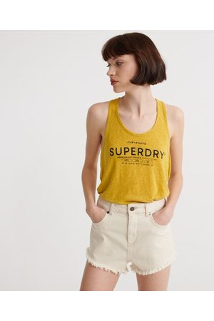 Superdry Desert-singlet i lin