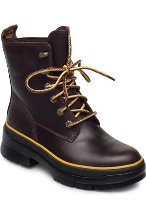 Timberland Malynn Mid Lace Ek+ Wp Shoes Boots Ankle Boots Ankle Boot - Flat