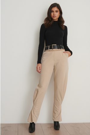 NA-KD Dame Chinos - Slim Ankle Suit Pants
