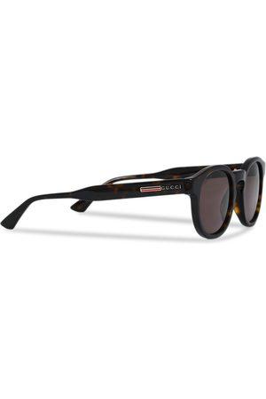 Gucci GG0825S Sunglasses Havana/Brown