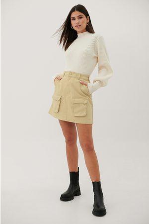 Paola Locatelli x NA-KD Organic Denim Pocket Skirt