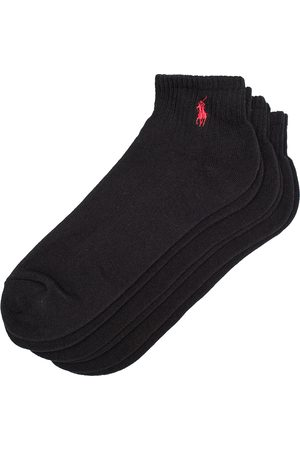 Polo Ralph Lauren Herre Undertøy - 3-Pack Sport Quarter Socks Black