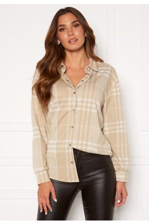 BUBBLEROOM Cleo checked overshirt L
