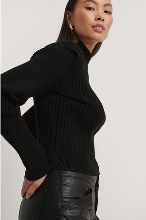 NA-KD Marked Shoulders Knitted Sweater