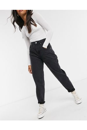 Cotton On Slouch mom jean in black