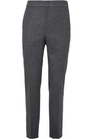 Loro Piana Herre Chinos - 17cm Flannel Wool & Cashmere Pants