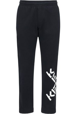 Kenzo Logo Cotton Blend Sweatpants