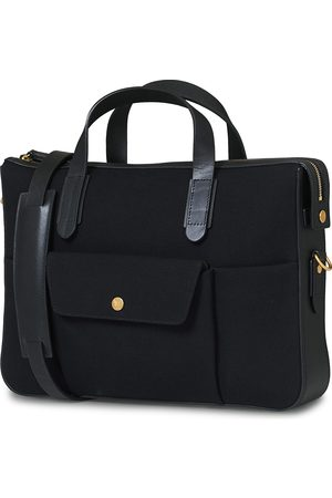 Mismo M/S Canvas Briefcase Coal/Black