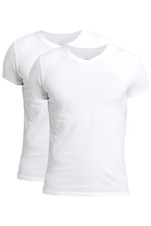 GANT 2-pakning Basic V-Neck T-Shirt * Fri Frakt