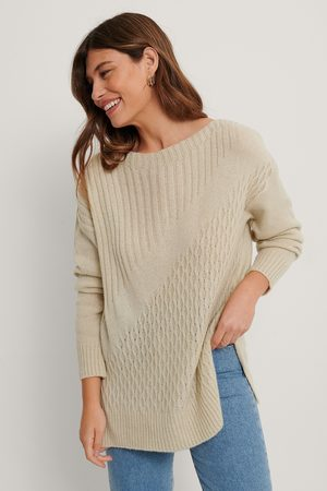 Trendyol Long Detailed Knit Sweater