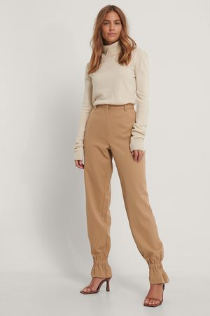 Gine Margrethe x NA-KD Suit Pants With Elastic