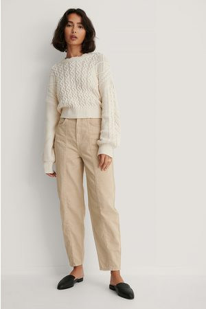 NA-KD Wide Cocoon Jeans
