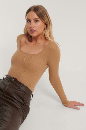 Trendyol Dame Body - Square Collar Body