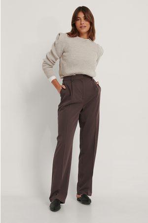 Trendyol Dame Strikkegensere - Shoulder Detail Knit Sweater