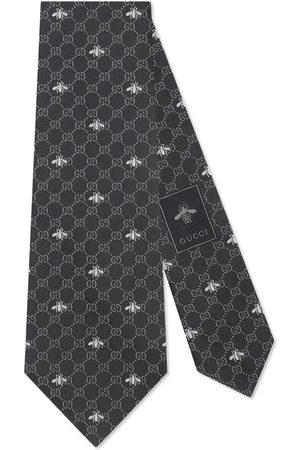 Gucci Herre Slips - GG bees silk tie