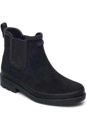 Aigle Ai Textile Boot W Noir Shoes Boots Ankle Boots Ankle Boot - Flat