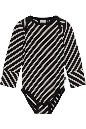 Papu Stripe Body Baby Bodies Long-sleeved