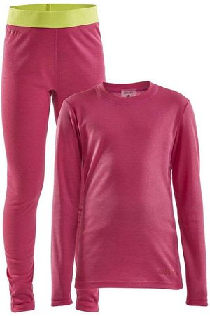 Craft Jente T-skjorter - Core Warm Baselayer Set Jr