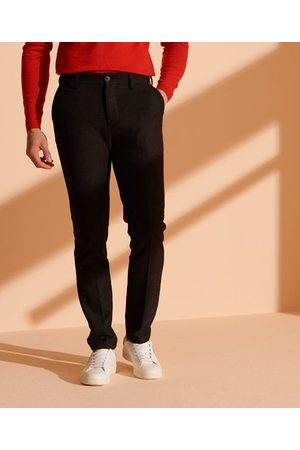 Superdry Smale Core-chinos i ull