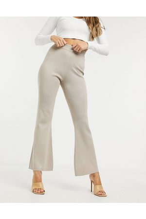 Missguided Co-ord flared trouser in