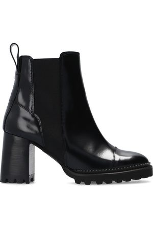 See by Chloé 'Mallory' heeled ankle boots